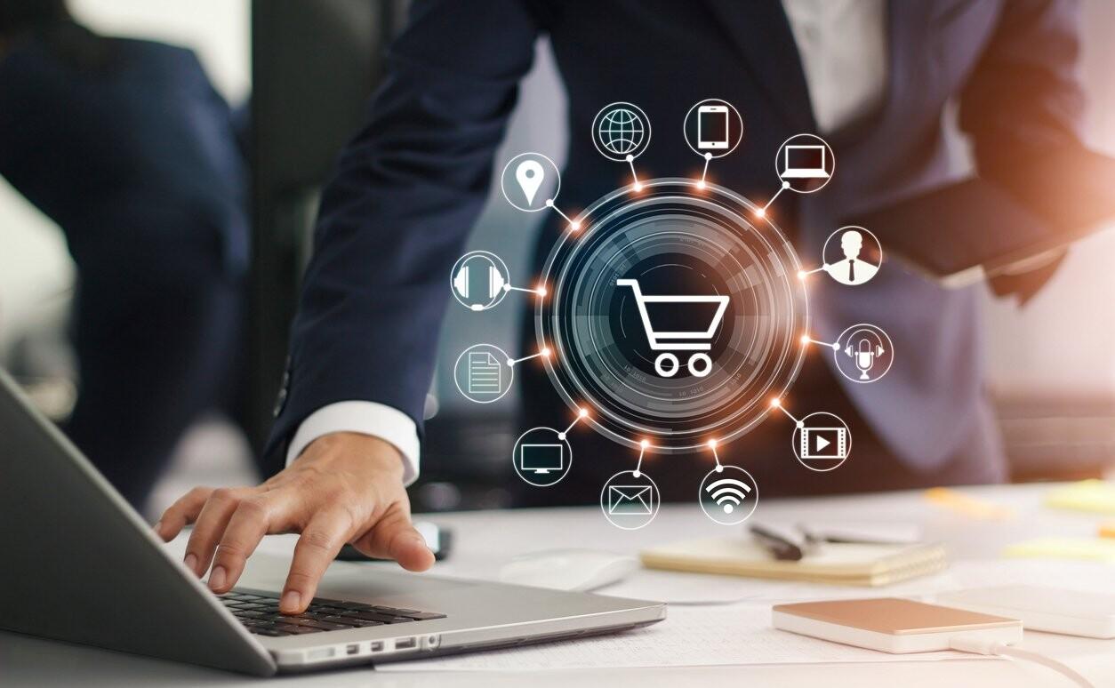 E-commerce web solution
